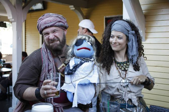 Shoreline Village Puppet Pirate